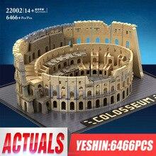 Ешина 22002 строительные блоки, кирпич модели игрушки с дистанционным управлением 6544 шт. Колизей MOC 49020 детские головоломки сборки подарок на Новый год 5225