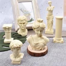 Soap Mold Plaster-Mould Column Venus Candle-Making-Wax Art-Body Roman Female Silicone
