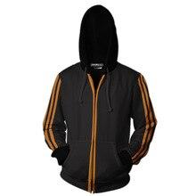 KINGSMAN Cosplay Zipper Hoodies Sweatshirts Men/Women Casual Tracksuits Hooded KINGSMAN Hoodies Costumes Tops Uniforms
