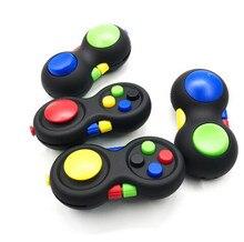 Lidar com brinquedos estresse arco-íris forma estranha almofada cubo estresse reliever squeeze divertido cubo mágico brinquedo de mesa crianças/adulto brinquedo de descompressão