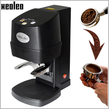 XEOLEO الكهربائية اسبريسو سدادة قهوة التلقائي شقة مطلي قاعدة الصحافة طاحونة القهوة الفول الصحافة أدوات القهوة اكسسوارات
