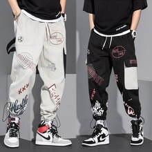 Мужские комбинезоны Брендовые брюки шаровары повседневные свободные