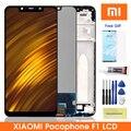 Оригинальный ЖК-дисплей Pocophone F1 для Xiaomi Pocophone F1, дисплей с сенсорным экраном, дигитайзер в сборе для Xiaomi PocophoneF1 Lcd