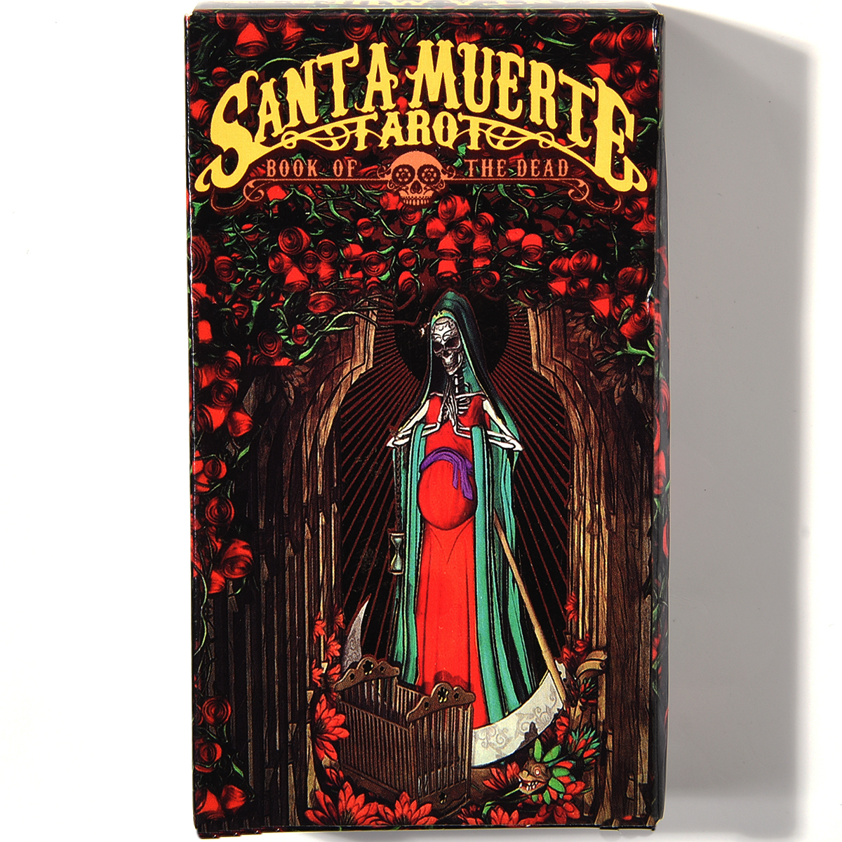 Santa Muerte Tarot Deck Book Of The Dead Oracle Cards Game  By Fabio Listrani Day Of The Dead Themed Magic