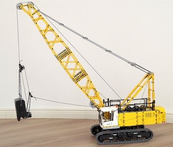 MOC 17193 Dragline Excavator by Ivan M with 2378 pieces