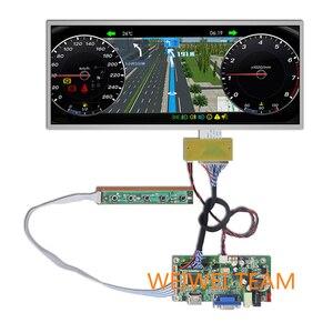 12,3 дюйма 1920*720 IPS дисплей, ЖК-дисплей, кластерная панель приборов, HDMI, VGA, плата драйвера для автомобиля, навигация, экран