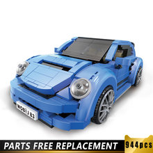 944 шт Детский конструктор «volkswagen beetle»