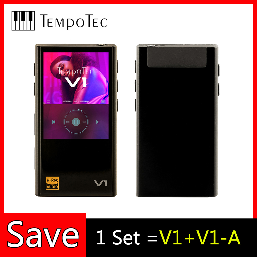 MP3 Players TempoTec Variations V1 V1-A HIFI Support Bluetooth LDAC IN amp OUT for USB DAC Portable Audio