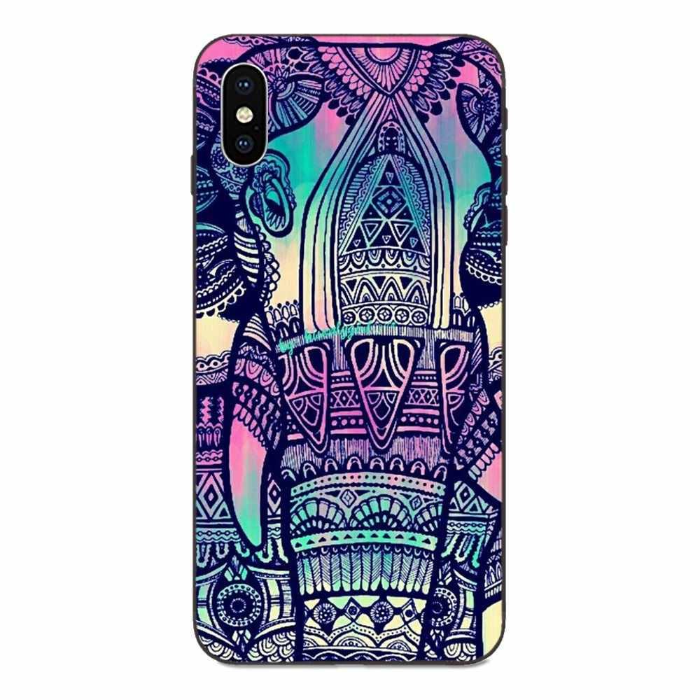 Suave TPU caso de moda azteca Animal León elefante para Xiaomi Redmi Note 3S 3S 4 4A 4X4 5X5 5A 6 6A 7 7A K20 Plus Pro S2 Y2 Y3