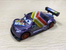 Disney Pixar Autos Neon Racer 1:55 Max Schnell Metall Diecast Spielzeug Modell Auto Neue Lose