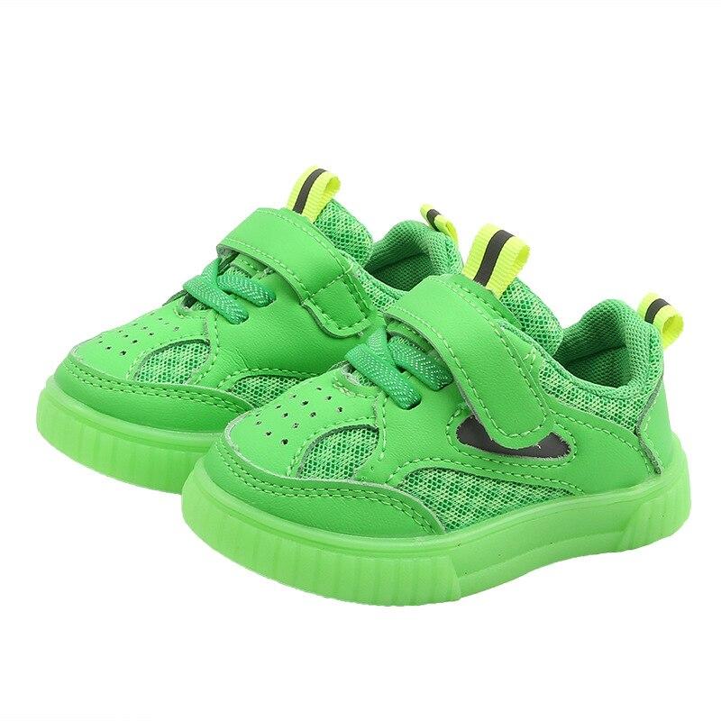 bebe da crianca sapatos de malha 0 3 04