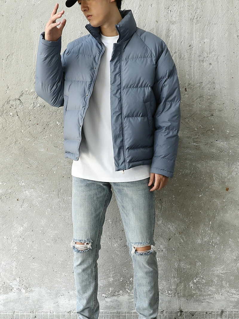 Winter Jacket Men Thick Warm Ultralight 90% White Duck Down Coat Male Fashion Mens Clothing Casual Outwear Hiver 005