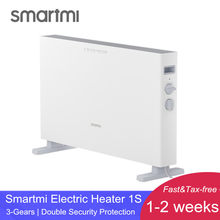 XIAOMI SMARTMI Electric Heater 1S Fast handy Heaters for home room Fast Convector fireplace fan wall warmer Silent(China)