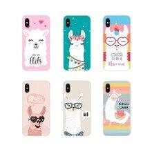 Acessórios Phone Cases Covers Lama Lama Alpacas Para Samsung A10 A30 A40 A50 A60 A70 M30 Galaxy Note 2 3 4 5 8 9 10 PLUS
