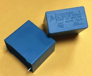 Image 1 - 6PCS NEW EPCOS B32914A3155M 1.5UF 330VAC PCM27.5 film capacitor B32914 155/330VAC X1 p27.5mm MKP 1.5uf/330vAC 1u5 155