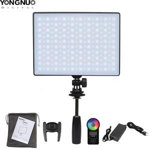 Image 1 - 용인 YN300 에어 II YN300air II YN 300 에어 프로 3200k 5500k RGB LED 카메라 비디오 라이트 캐논 니콘에 대한
