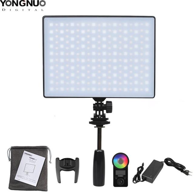 용인 YN300 에어 II YN300air II YN 300 에어 프로 3200k 5500k RGB LED 카메라 비디오 라이트 캐논 니콘에 대한