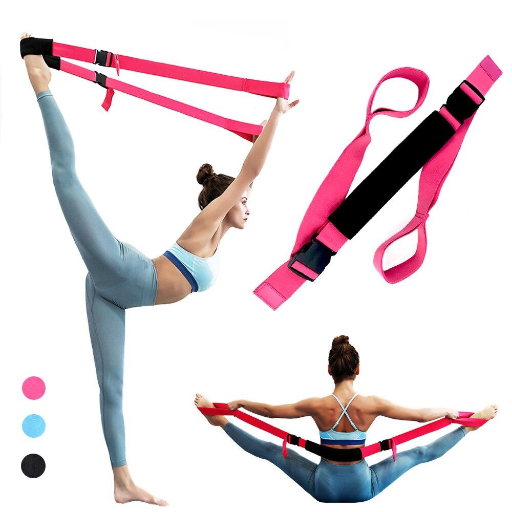 Yoga Straps Ballet Elastic Bands For Leg Stretcher Yoga Stretching Equipment For Ballet & Gymnastics Training Stretch Band