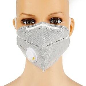 Многоразовая маска KN95 маска для лица респиратор Маска 5-слойная защита от пыли FFP2 FFP3 маска для лица защитная с дыхательным клапаном