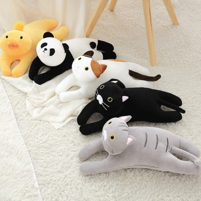 Kawaii Cat Pillow Kids Toys Doll Plush Baby Toys Big Cushion Cover Gift For Kid
