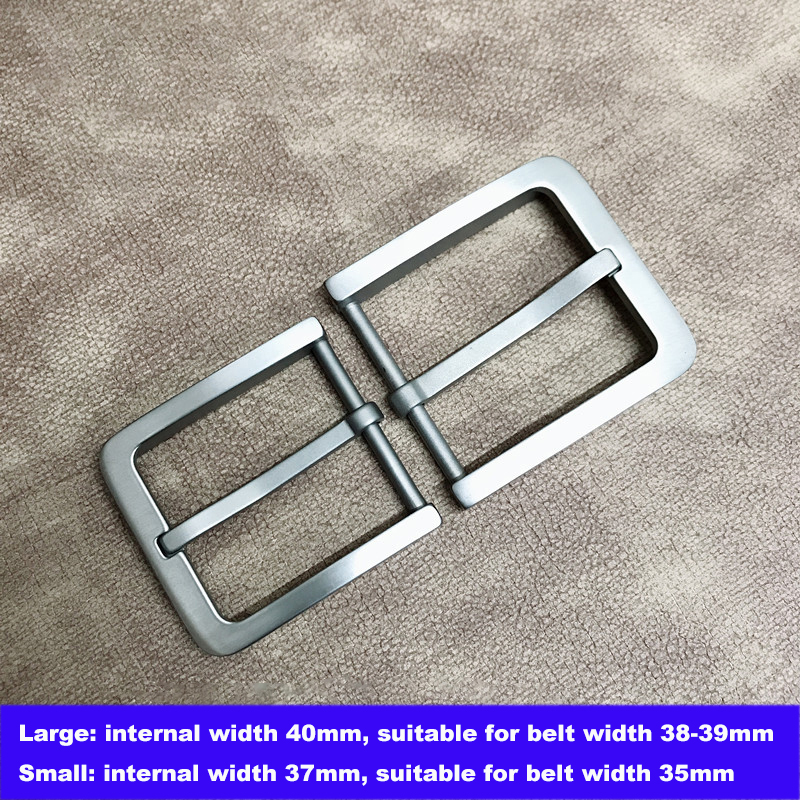 Standard+ Hypoallergenic Titanium Belt Buckle For 35 Mm / 38 Mm Width Leather Strap