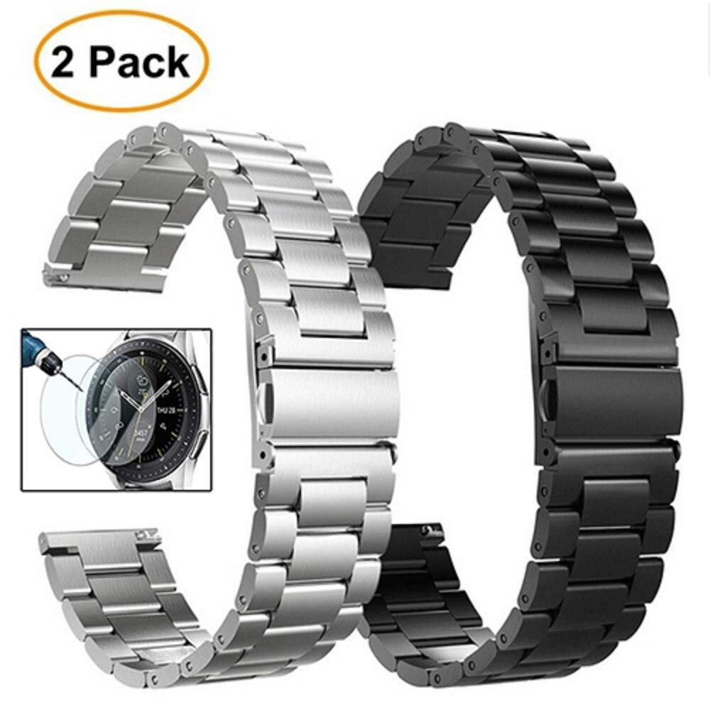 Миланский Браслет из нержавеющей стали для часов samsung Galaxy Watch Active 42 мм gear S2 Classic gear спортивный ремешок