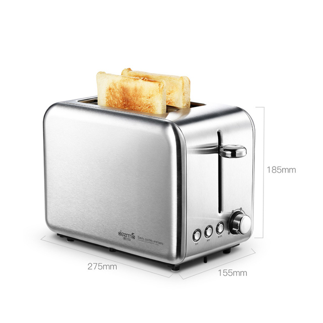 Deerma Bread Baking Machine Electric Toaster Household Automatic Breakfast Toast Sandwich Maker Reheat Kitchen Grill Oven 6
