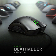Razer DeathAdder Essential Ergonomic Professional Grade Gaming Mouse 6400 DPI Optical Sensor Gamer For Computer Laptop PC Mices