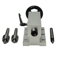 Cnc tailstock eixo rotativo um eixo 4th eixo adequado mini fresadora cnc