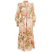 et robe imprimé soie