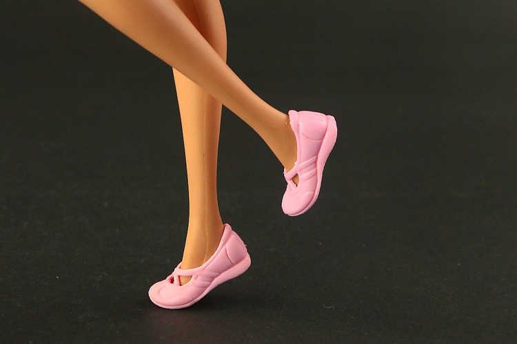 2019 Mới Chính Hãng Giày Cao Gót Cho Búp Bê Barbie Thời Trang Búp Bê Cao Cấp Cổ Ngắn Tăng 15 Phong Cách Giày Có Sẵn