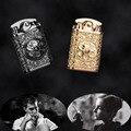 Модная Тяжелая броневая рельефная керосиновая зажигалка  королевская аристократическая Ограниченная серия  зажигалка  сигаретная зажигал...