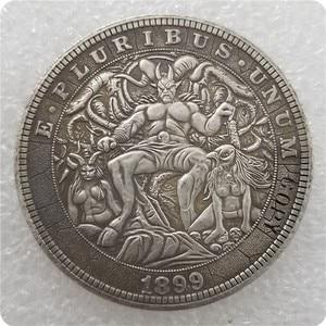Type #29_Hobo Nickel Coin 1899-P Morgan Dollar COPY COINS-replica commemorative coins(China)