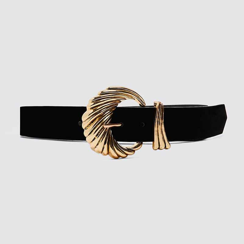H1d851b0faa2845038a0fda306e933c16E - Girlgo Newest Vintage Velvet Buckle Belt for Women Punk Metal Gold Color Belly Chain Accessories Jewelry Party Gifts Bijoux