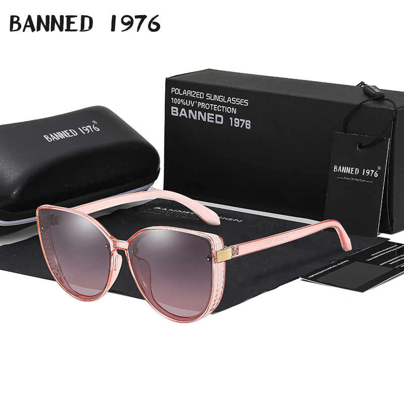2020 New Polarized lady Sunglasses Fashion Vintage Women Brand Designer Sun Glasses cat eye woman Female original oculos|Women's Sunglasses| - AliExpress