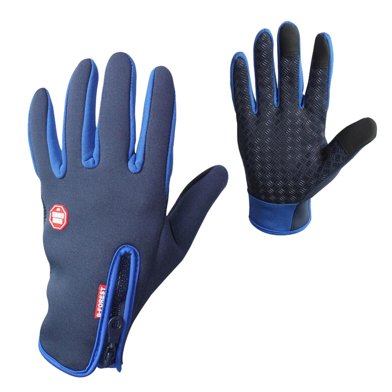 Upgrade High Quality Touch Screen Windproof Riding Gloves Breathable Riding Gloves Men And Women Children 4 Colors