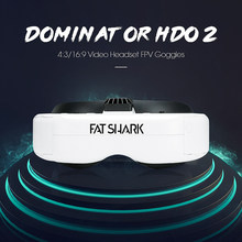 FatShark Dominator HDO 2 1280x960 OLED Display Video Headset FPV Goggles for FPV Racing Drone 46 Degree Field of View 4:3/16:9