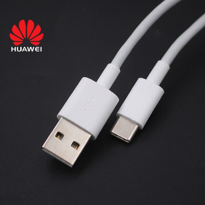 Оригинальный кабель Huawei 3A USB Type C 100 см, провод для быстрой зарядки и передачи данных для Huawei P40 P30 Pro + Mate 40 30 20 10 Pro Nova 8 7 Pro