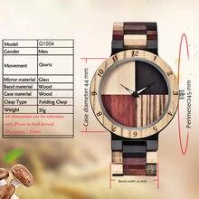 MEBENI Newest Wood watch Men's Watch Black brown Full Wood