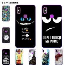 I am alone Phone Bags For Leagoo M13 2019 6.1 inch Solf TPU Cases Fashion