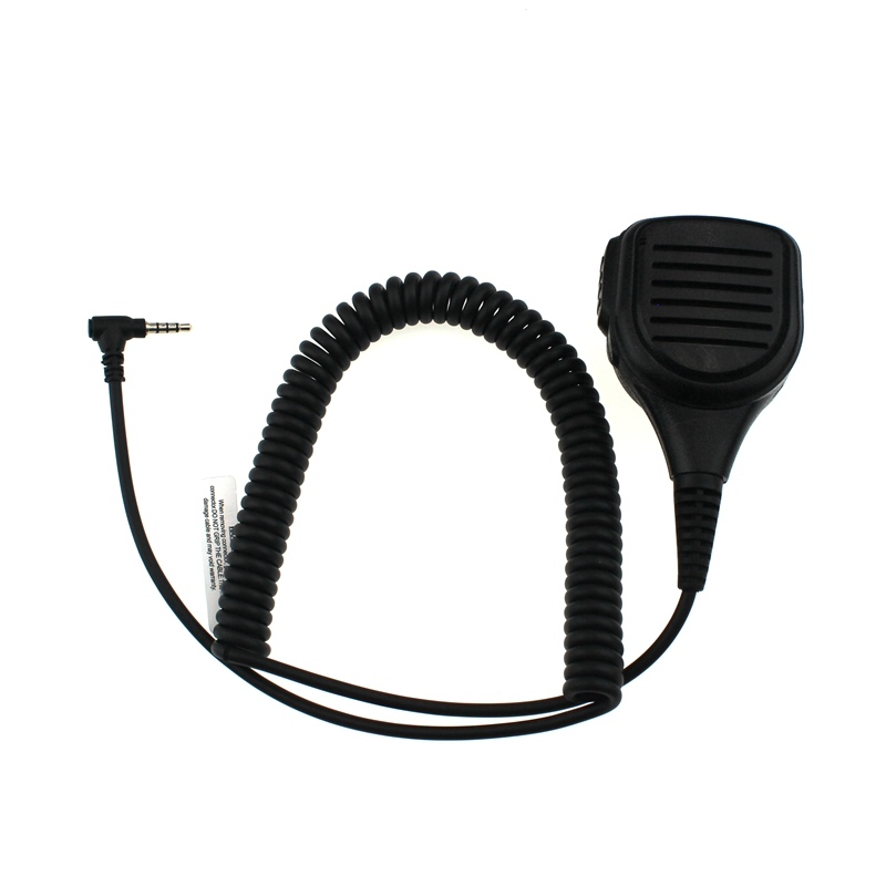 Rainproof Shoulder Speaker Walkie Talkie Mic Microphone 1 Pin For Yaesu Vertex VX-1R/2R/3R/5R/VX168/VX160/FT60R Two Way Radio