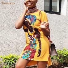 BOHISEN Hot Sales Classic African Women's Dress Dashiki Fashion Printed Long Shirt Print Clothes For Women