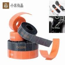 Youpin Bcase Gestire cavo Multi strato Tear off Nastro Anti Slip Fili Organizer Sticker Adesivo Cinghia Multi Strato Composito
