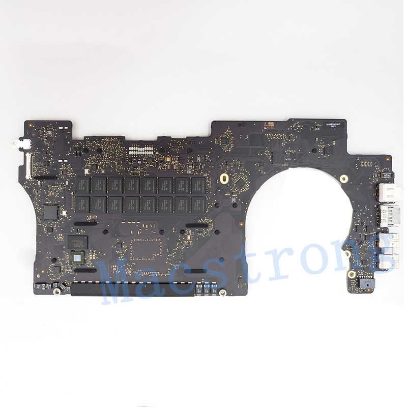 """Testowana oryginalna płyta główna A1398 dla MacBook Retina 15 """"Late2013 2014 i7 2.2 GHz 2.3GHz 2.6GHz 16GB RAM tablica logiczna 820-3662-A"""