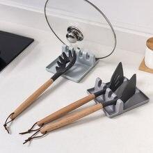 Кухонные ложки держатели вилка и лопатка полка органайзер пластиковые