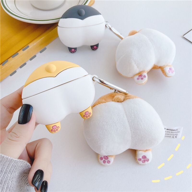 3d Earphone Case For Airpods Pro Case Silicone Cover Bag Cartoon
