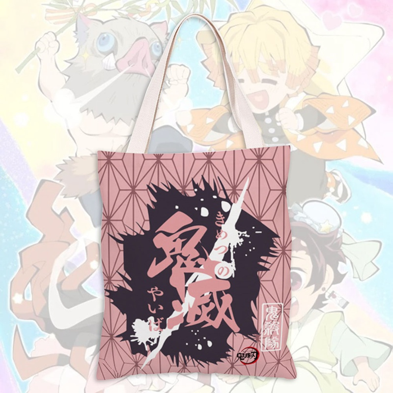 Devil's Blade Charajiro Japanese Anime Manga Devil Killer Animated Canvas Shoulder Bag Handbag Student Tutorial Bag Handbag