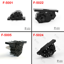 цены LESU Metal Transfer Case for 1/14 RC TAMIYA Tractor Truck Dumper DIY Gearbox Transmission