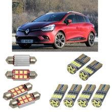 Интерьерный светодиодный автомобильный светильник s для Renault clio 4 box grandtour kh автомобильные аксессуары фонарь для багажника номерного знака светильник 6 шт