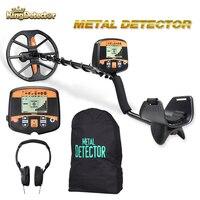 TX-960 profissional detector de metais profundidade subterrânea scanner busca localizador de ouro caçador tesouro detectando pinpointer